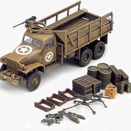 [1/72] 13402 US CARGOTRUCK & ACCESSORY