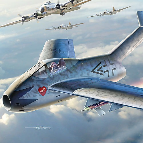 [1/48] 12327 Focke-Wulf Ta-183 ​Huckebein​(Released Apr,2018)