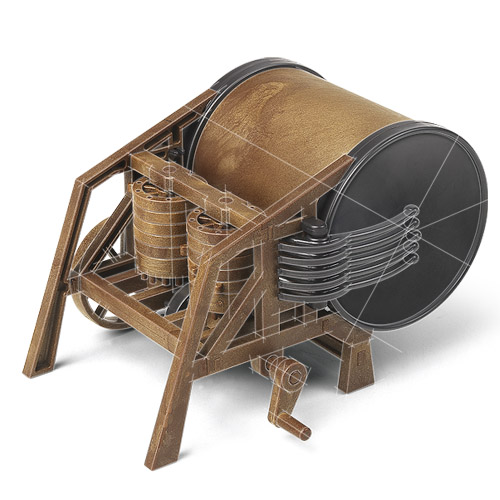 18138 Mechanical Drum