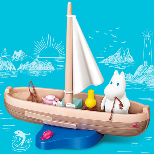 15755 Moomin with boat(Released Jul,2018)